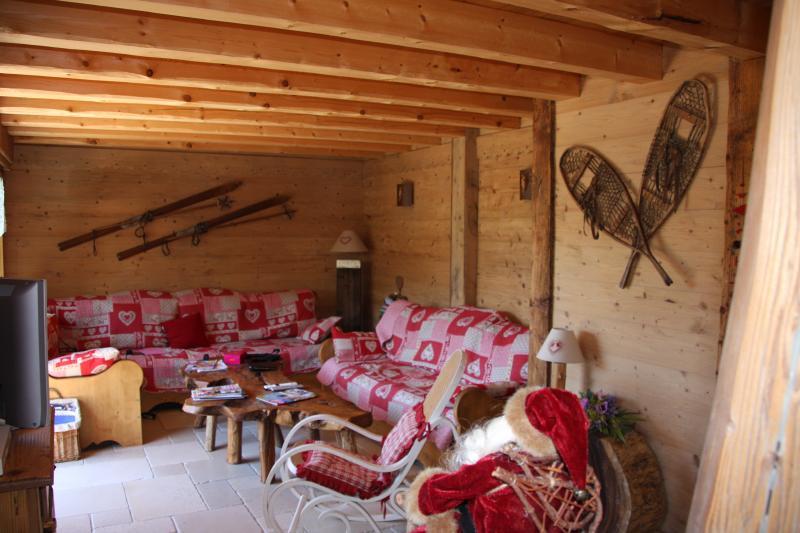 Sala de estar Alquiler Chalet 80673 Saint-Gervais-les-Bains
