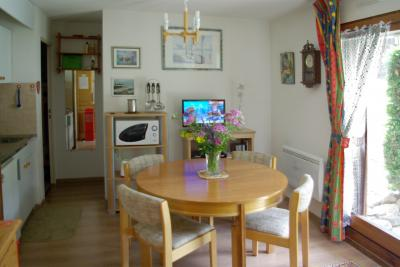 Sala de estar Alquiler Apartamento 81787 Les Contamines Montjoie