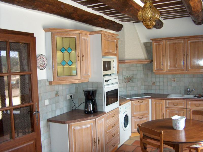 Cocina independiente Alquiler Villa 83534 Anduze