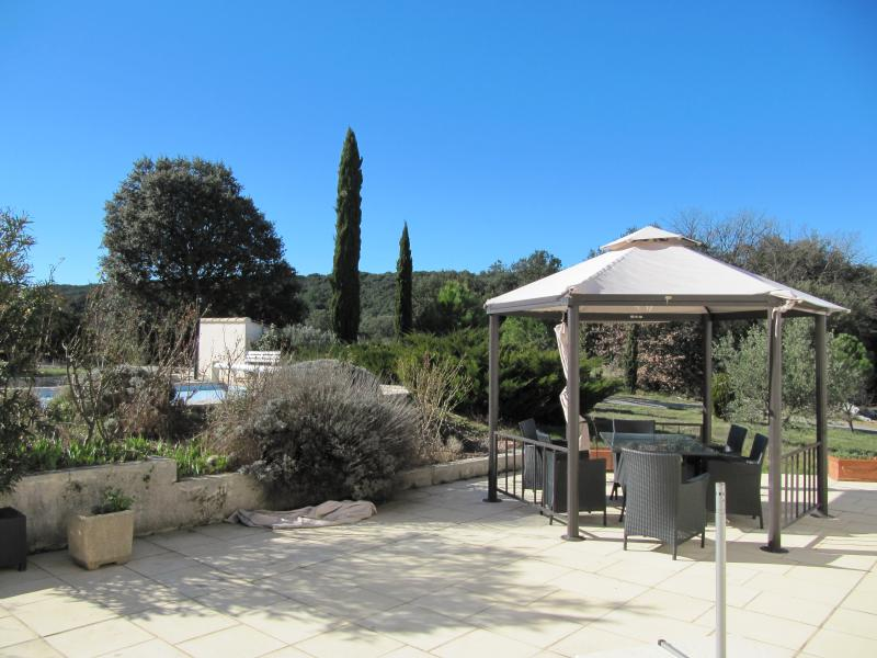 Vistas desde la terraza Alquiler Villa 83534 Anduze