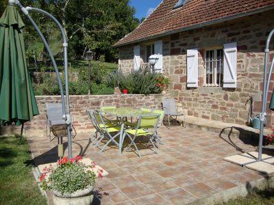 Terraza Alquiler Casa rural 102138 Brive-la-Gaillarde