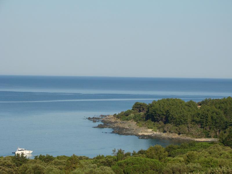 Vistas desde el alojamiento Alquiler Villa 79457 Propriano