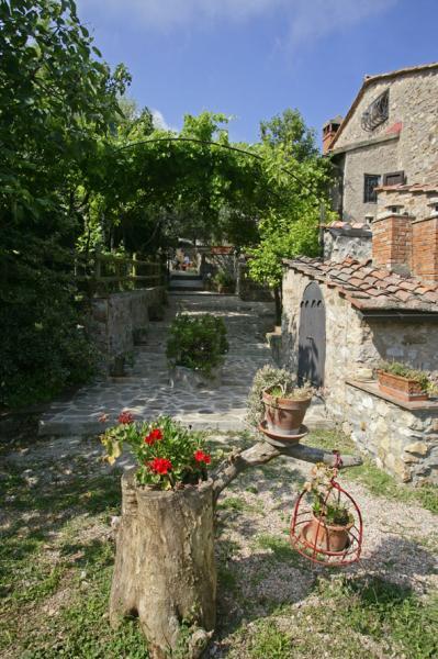 Vistas desde la terraza Alquiler Casa rural 80622 Gavorrano