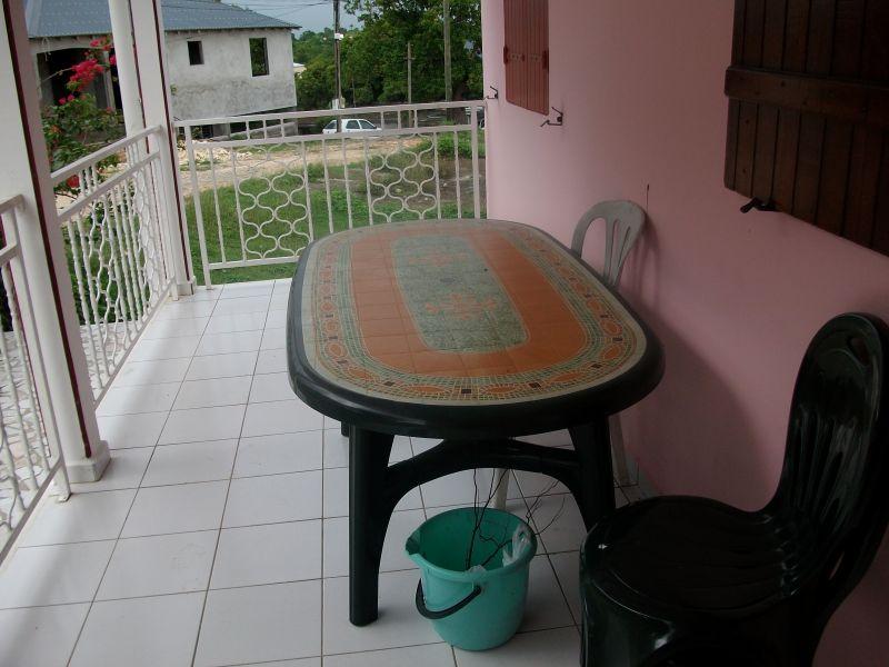 Vistas desde la terraza Alquiler Apartamento 86596 Sainte Anne (Guadalupe)