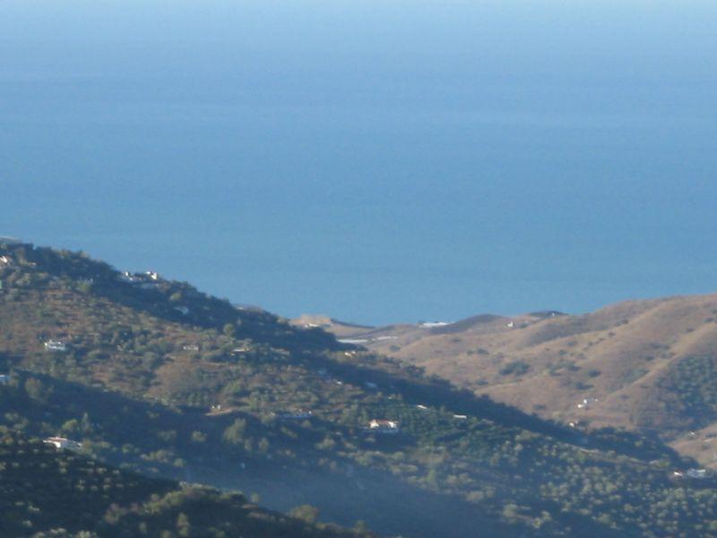 Vistas desde la terraza Alquiler Villa 88509 Torrox