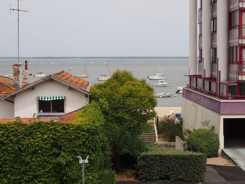 Vistas desde la terraza Alquiler Apartamento 92451 Arcachon