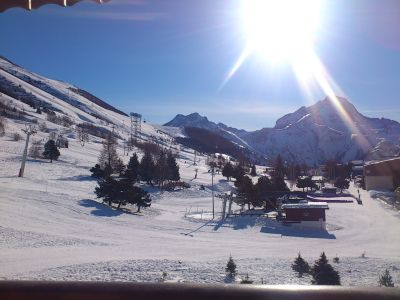 Vistas desde el alojamiento Alquiler Estudio 106694 Les 2 Alpes