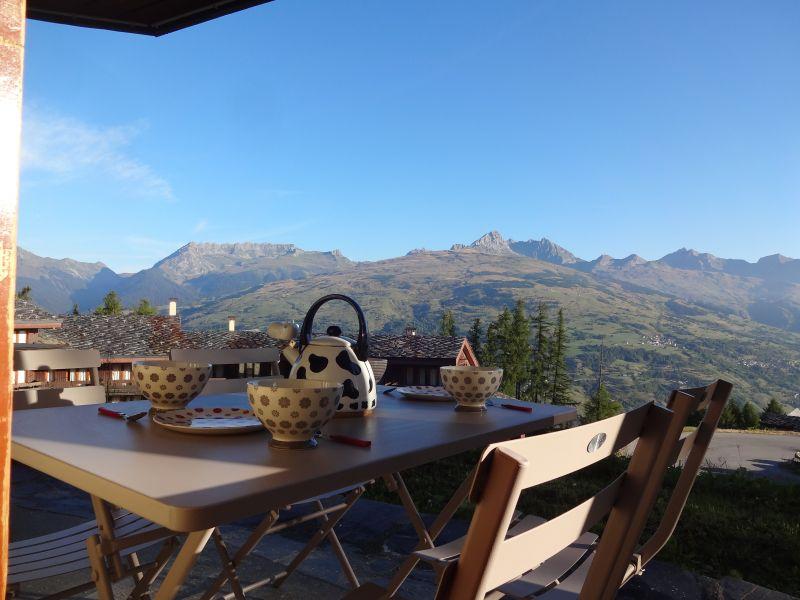 Vistas desde la terraza Alquiler Apartamento 108308 Montchavin les Coches