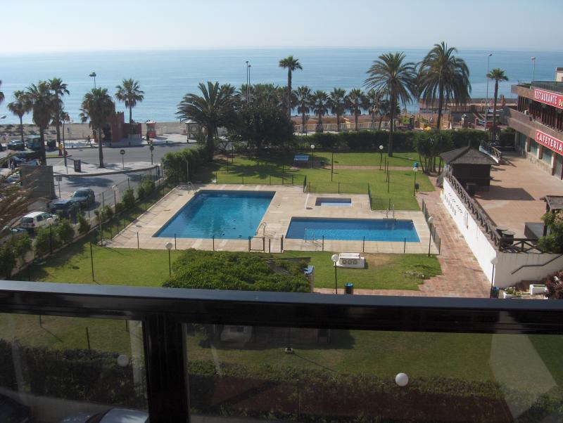 Vistas desde la terraza Alquiler Apartamento 76001 Benalmádena