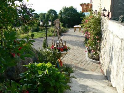 Vistas desde la terraza Alquiler Casa 98117 Evian les Bains