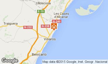 Mapa Vinaroz Villa 33363