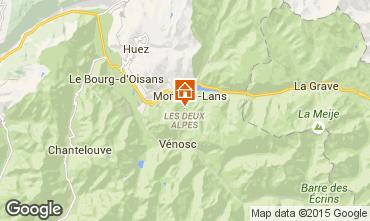 Mapa Les 2 Alpes Chalet 93861