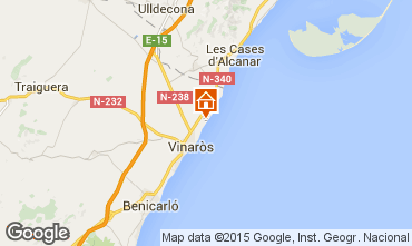 Mapa Vinaroz Apartamento 11348