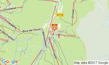 Mapa Les Arcs Estudio 168