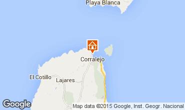 Mapa Corralejo Apartamento 98983