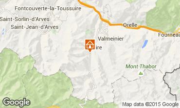 Mapa Valloire Chalet 3373