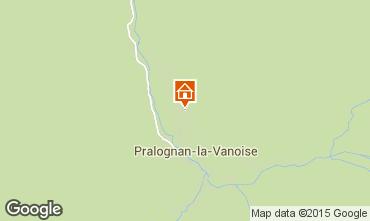 Mapa Pralognan la Vanoise Apartamento 18251