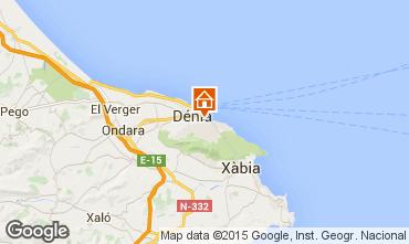 Mapa Denia Apartamento 71551