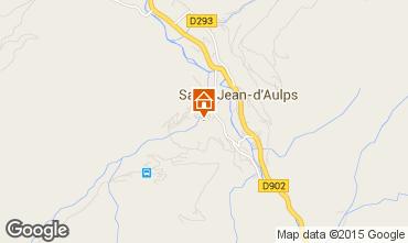 Mapa Saint Jean d'Aulps- La Grande Terche Apartamento 85484