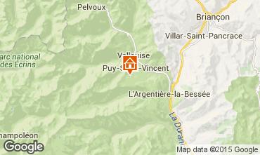 Mapa Puy Saint Vincent Apartamento 56195