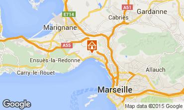 Mapa Marsella Casa rural 5959