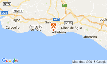 Mapa Albufeira Casa 114095