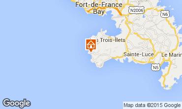 Mapa Anses d'Arlet Apartamento 27269