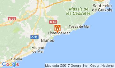 Mapa Lloret de Mar Apartamento 82806