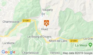 Mapa Alpe d'Huez Apartamento 117395