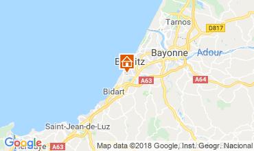 Mapa Biarritz Apartamento 98622