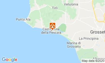 Mapa Castiglione della Pescaia Apartamento 59949