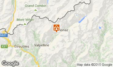 Mapa Bionaz Apartamento 86799