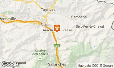 Mapa Les Carroz d'Araches Estudio 73671