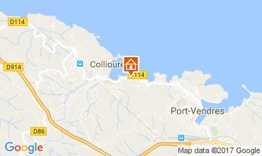 Mapa Collioure Apartamento 98460