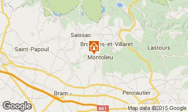 Mapa Carcassonne Casa rural 58227
