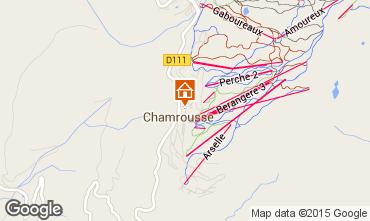 Mapa Chamrousse Apartamento 60686