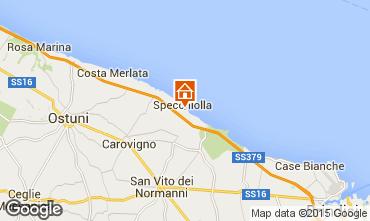 Mapa Ostuni Apartamento 94756