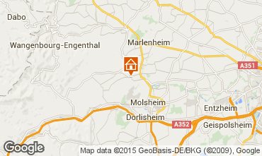 Mapa Estrasburgo Casa rural 99690