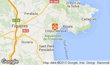 Mapa Ampuriabrava Apartamento 82822