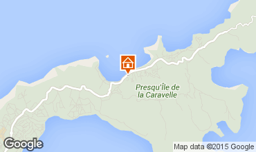 Mapa Tartane Bungalow 87772