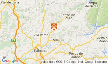 Mapa Braga Casa rural 105979