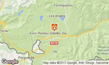 Mapa Font Romeu Apartamento 4131