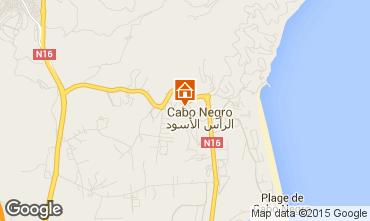 Mapa Cabo Negro Apartamento 64868