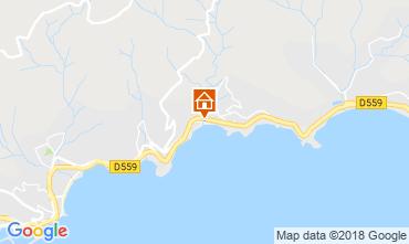 Mapa Le Lavandou Apartamento 117256