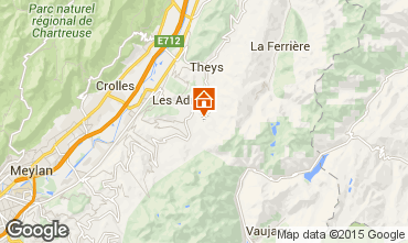 Mapa Les Sept Laux Apartamento 73885