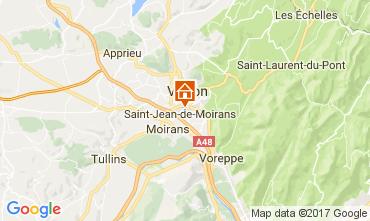 Mapa Grenoble Casa rural 16078
