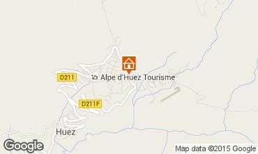 Mapa Alpe d'Huez Estudio 49666