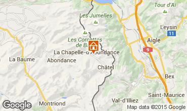 Mapa Châtel Chalet 59043