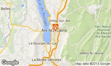 Mapa Aix Les Bains Apartamento 77365