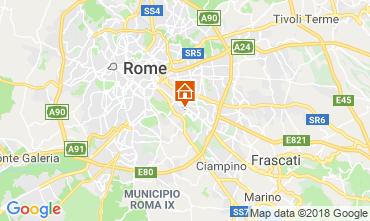 Mapa Roma habitación de huéspedes 117444